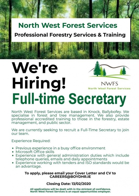 North West Forest Services Boyd HR