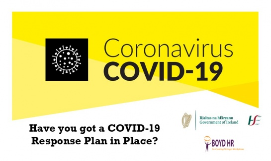 Covid 19 Response Plan Boyd HR