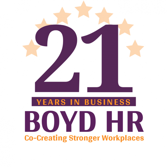 Boyd HR 21 Years in Business